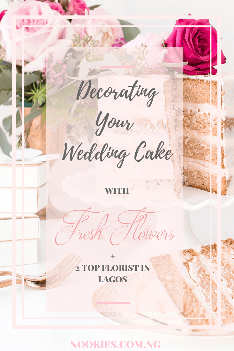 Decorating Your Wedding Cake With Fresh Flowers